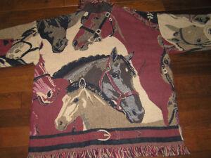 New Custom Made Horse Theme  Jacket
