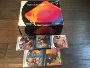 Boxed Sega Dreamcast Lot Shenmue Gunbird 2 Mars Matrix