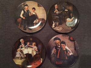 Norman Rockwell Collectable Plates and more