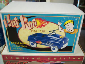 PEDAL CAR B.N.I.B. 1/3 SCALE HOT ROD