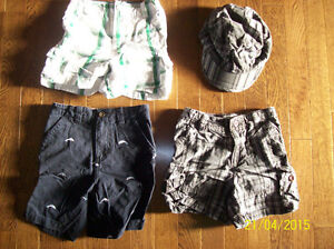 The Children's Place Shorts & Hat, Size 24 months