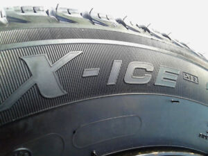 185/65/15, set of 4 Michelin X ice winter tires on 4 x 100 rims.