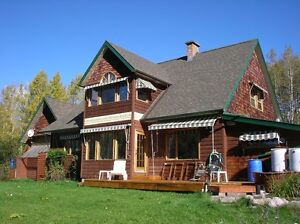 B&B on large acreage in prized Driftwood 15 mn from Smithers