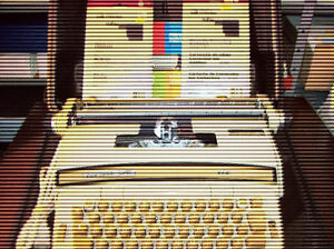 Smith Corona typewriter super 12 and ribbons included
