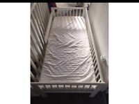 Ikea cot bed single bed
