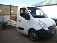 2012(12) RENAULT MASTER LL35DCi CHASSIS CAB, WILL TAKE 14FT BODY