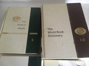World Book Encyclopedia, Dictionary and Year in review 1969-79