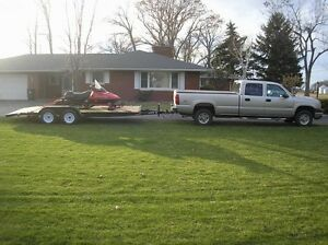 SNOWMOBILE TRUCK AND TRAILER  YELLOW STICKER Kitchener / Waterloo Kitchener Area image 3