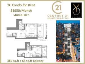 【YC Condo】DT Yonge and College U of T Campus YC Condo for Rent