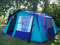 BARGAIN USED ONCE 6 BERTH MONTANA TENT