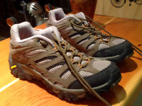 Merrell trail shoe size 9.5 worn once