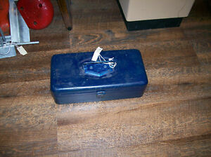 Antique Old Pal 1 Tray Tackle Box with Tackle