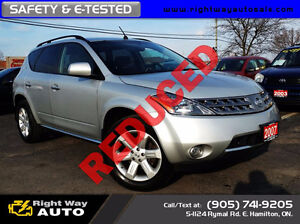 2007 Nissan Murano SL | 136Km | SAFETY & E-TESTED