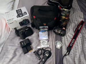 Canon 60D - EF-S 18-200mm f/3.5-5.6 IS - Kit complet