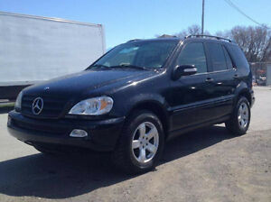 2004 Mercedes-Benz 300-Series black SUV, Crossover, 350 SL