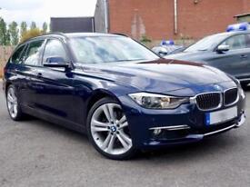 BMW 3 SERIES 330D LUXURY TOURING Blue Auto Diesel, 2014