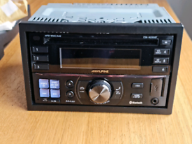 ALPINE CDE 235BT DOUBLE DIN STEREO