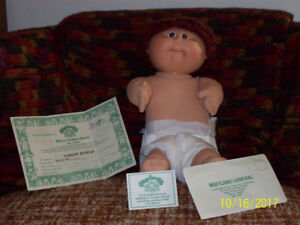 Vintage, 1985, Carlos Duncan Cabbage Patch Doll