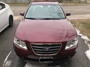 2009 Hyundai Sonata,Low kms,Dealer maintained,Certified,Etested