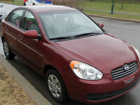2008 Hyundai Accent Sedan 60000km LIKE NEW