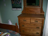 Antique East Lake 4 Drawer Dresser Very Nice Condition