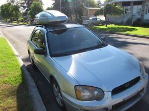 2004 Subaru Impreza gris vitres teintées !