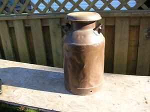 Large Vintage Milk Can Jug 25 inch