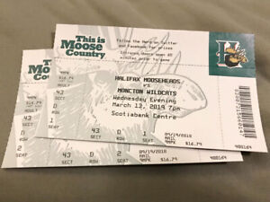 Mooseheads vs Moncton Wildcats - Wednesday March 13