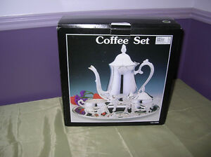 Coffee/Tea Set Silver Plated 4 piece Set New