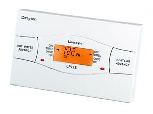 ACL DRAYTON LP722 7 DAY ELECTRONIC TWIN CHANNEL PROGRAMMER NEW FREE POSTAGE
