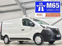 VAUXHALL VIVARO LOW MILEAGE 23,000 1.6CDTi 115PS 2700 L1H1 SWB SHORT WHEELBASE