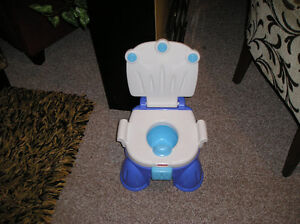 Fisher Price Musical Potty  with stool