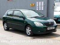 2004 TOYOTA COROLLA 1.6 VVT i T3 3dr very clean car