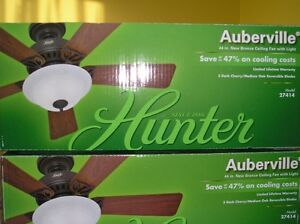 "One (1) New 44"" Hunter Ceiling Fan"