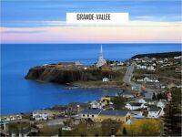 Plusieurs terrains à vendre en Gaspésie