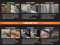 Gutter Cleaning, Window Washing, Graffiti Removal, Dryer Vent...