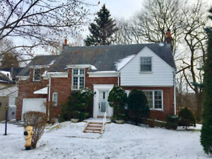 3 Bedroom House at Bloor and Kingsway - walk to Old Mill subway