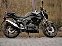 Sym Wolf 125 SB125N Naked 2020 new, 2 yrs warranty,injection,euro 4,£49.84 mth