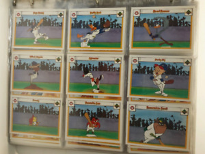 1990 Upper Deck Comic Ball Looney Tunes Card set 1-594+ 9 Holo.