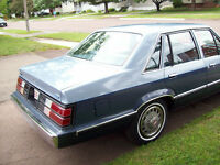 Ford Brougham....... Antique .....  32 Years Old