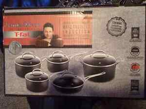 $600 obo T-fal Jamie Oliver 10 Piece cookware