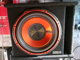 12 INCH EDGE SUB WITH BUILT IN AMP