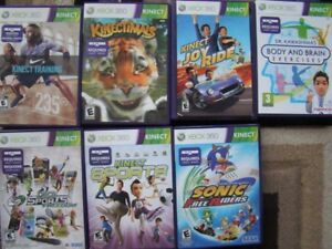 EUC KINECT INTERACTIVE GAMES IN BOX FOR XBOX 360 LIVE