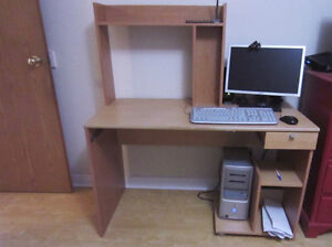 COMPUTER PACKAGE AND DESK FOR SALE