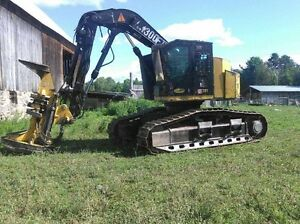 721 Timber King Feller Buncher for sale