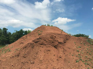 Naturally Red Clay Coloured Mulch Stratford Kitchener Area image 2