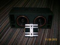 Boom Box & Kenwood 350 Amp for sale