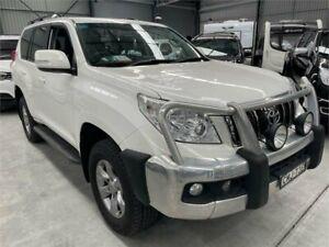 2012 Toyota Landcruiser Prado KDJ150R GXL White 5 Speed Sports Automatic Wagon Boolaroo Lake Macquarie Area Preview