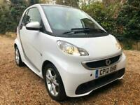 2012 smart fortwo coupe Pulse mhd 2dr Softouch Auto [2010] COUPE Petrol Automati