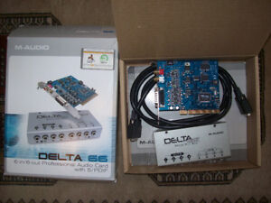 Carte son M-Audio Delta-66